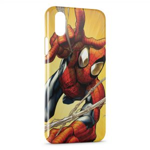 Coque iPhone XS Max Spiderman Vintage Comics 3