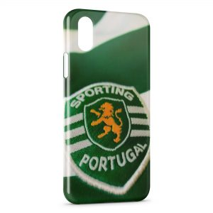 Coque iPhone XS Max Sporting Portugal Football 3