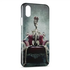 Coque iPhone XS Max Squelette King