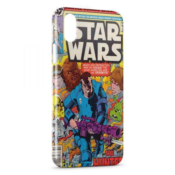 Coque iPhone XS Max Star Wars Comics Group