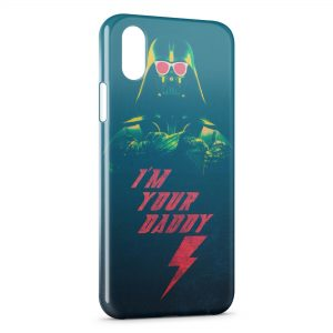 Coque iPhone XS Max Star Wars Dark Vador Im Your Daddy