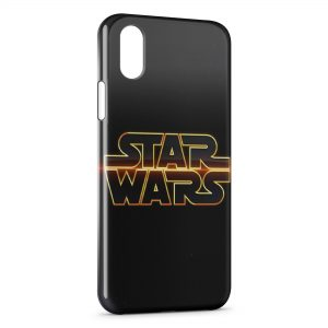 Coque iPhone XS Max Star Wars Logo