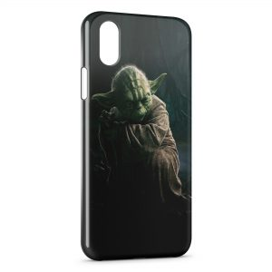 Coque iPhone XS Max Star Wars Yoda