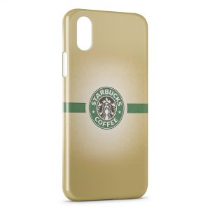 Coque iPhone XS Max StarBucks Coffee Logo