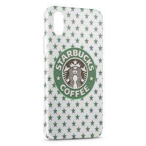 Coque iPhone XS Max Starbucks Coffee Design Green