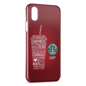 Coque iPhone XS Max Starbucks New Taste