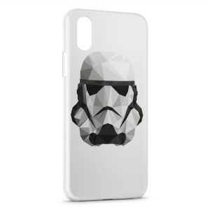 Coque iPhone XS Max Stormtrooper Star Wars Casque