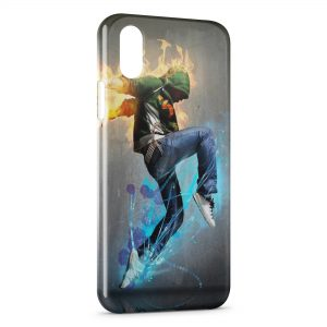 Coque iPhone XS Max Street Dance
