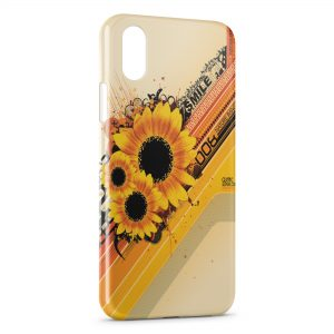 Coque iPhone XS Max Sunflower