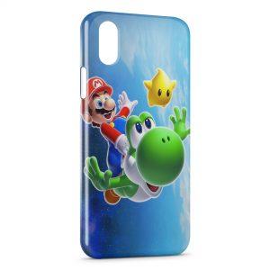 Coque iPhone XS Max Super Mario & Luigi