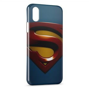 Coque iPhone XS Max Superman Logo
