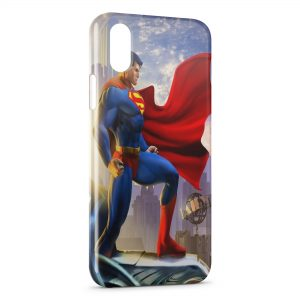 Coque iPhone XS Max Superman Style