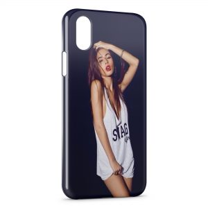 Coque iPhone XS Max Swag Girl