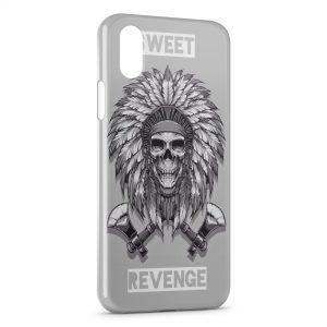 Coque iPhone XS Max Sweet Revenge Indien