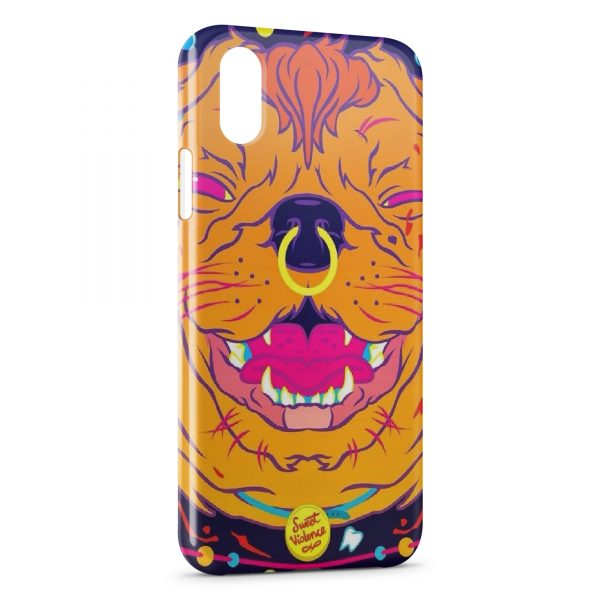 coque iphone xs dog