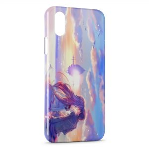 Coque iPhone XS Max Sword Art