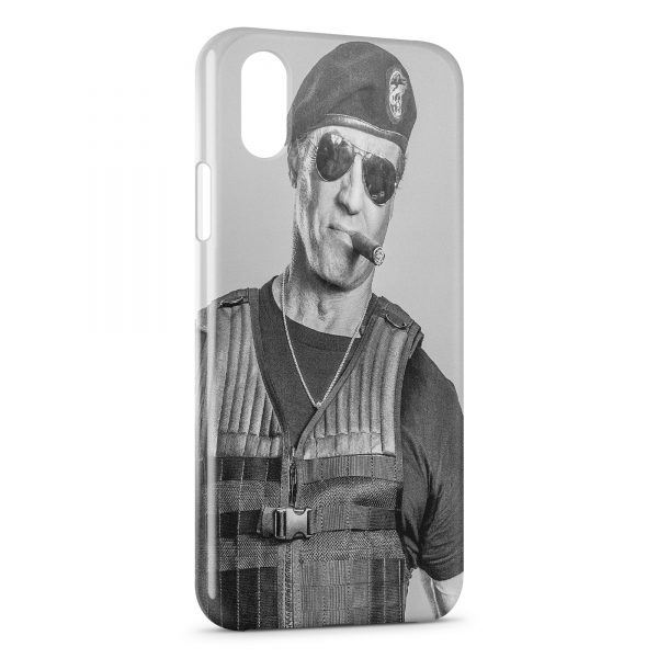 Coque iPhone XS Max Sylvester Stallone