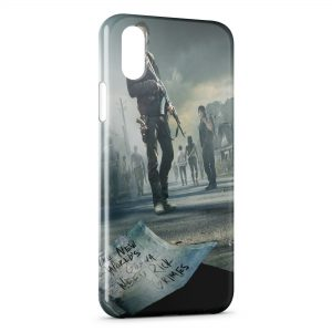 Coque iPhone XS Max THe Walking Dead 4
