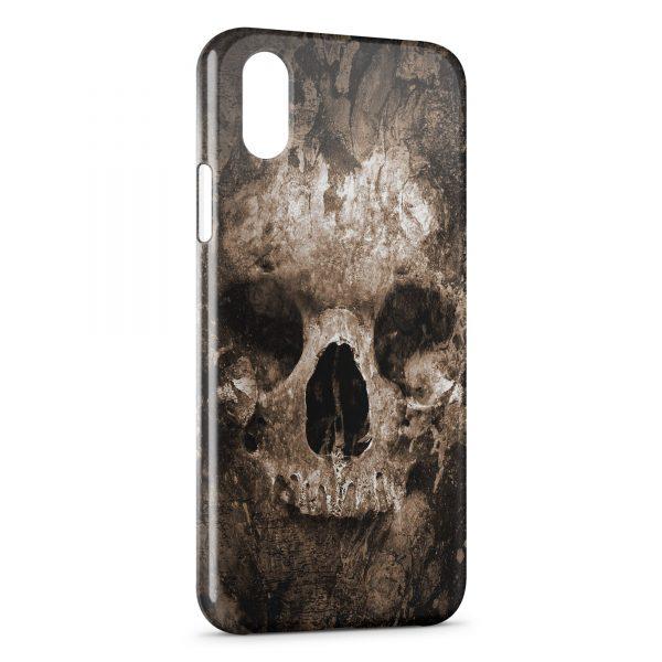 Coque iPhone XS Max Tete de mort2