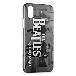 Coque iPhone XS Max The Beatles RockBand