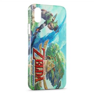 Coque iPhone XS Max The Legend of Zelda Skyward Sword