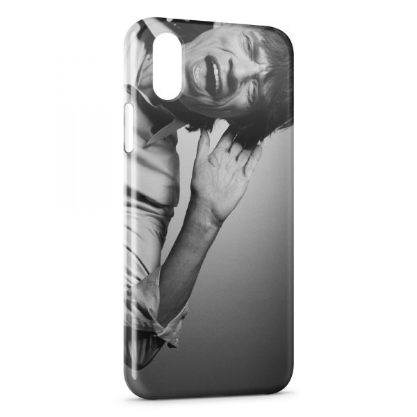 Coque iPhone XS Max The Rolling Stones Mike Jagger