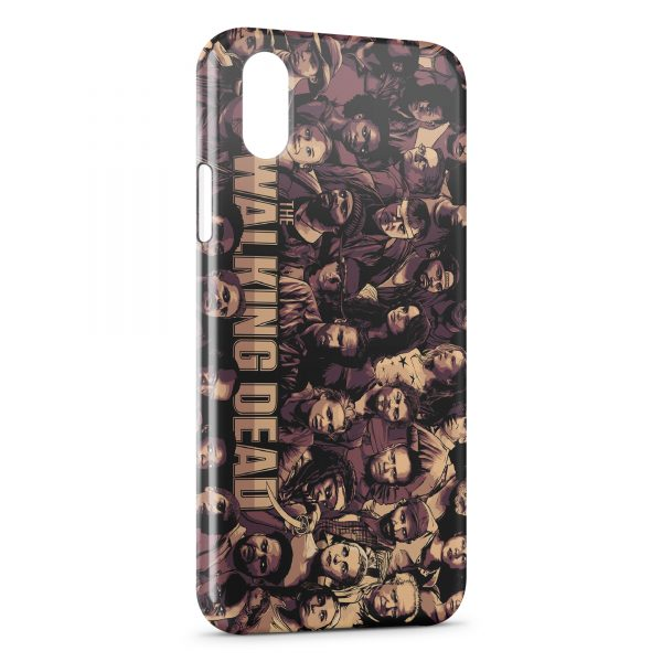 Coque iPhone XS Max The Walking Dead 2