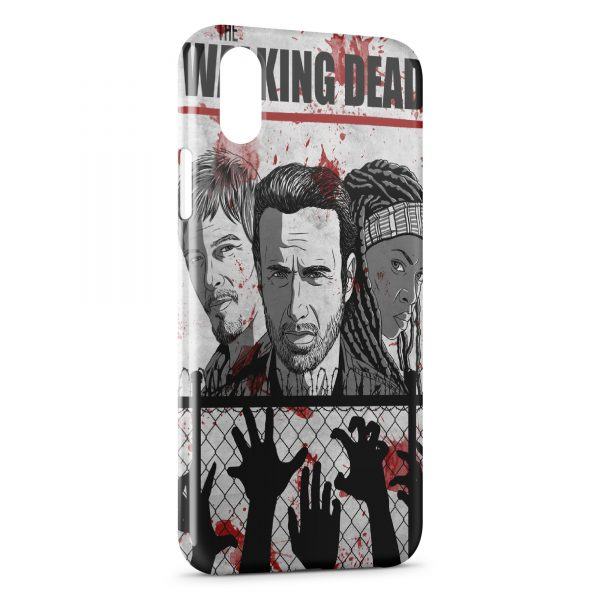 Coque iPhone XS Max The Walking Dead 3