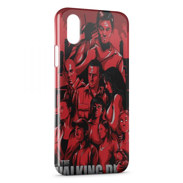 Coque iPhone XS Max The Walking Dead 5