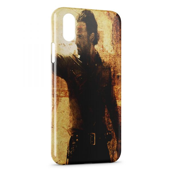 Coque iPhone XS Max The Walking Dead 6