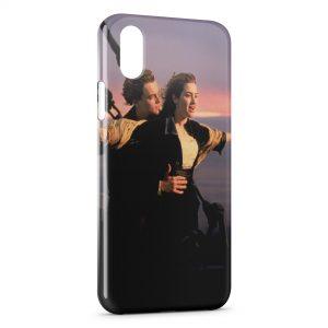Coque iPhone XS Max Titanic Leonardo Di Caprio Rose 2