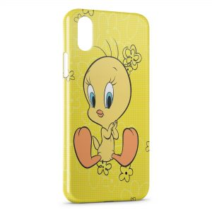 Coque iPhone XS Max Titi Flowers Yellow Style