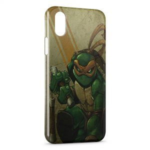 Coque iPhone XS Max Tortue Ninja