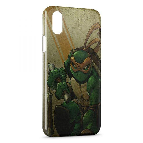 Coque iPhone XS Max Tortue Ninja