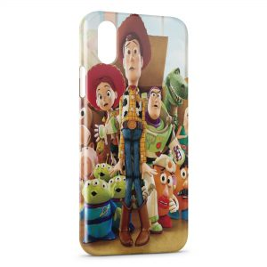 Coque iPhone XS Max Toy Story Groupe