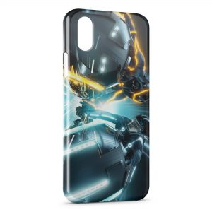 Coque iPhone XS Max Tron Legacy