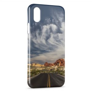 Coque iPhone XS Max US road