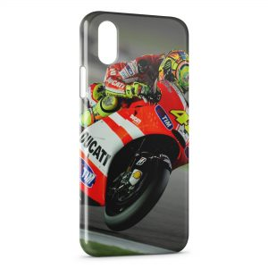 Coque iPhone XS Max Valentino Rossi Moto Sport 4