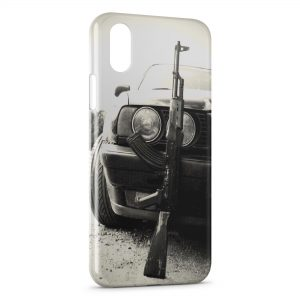 Coque iPhone XS Max Voiture & AK47
