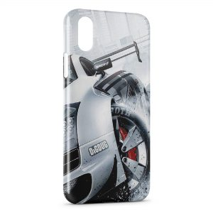 Coque iPhone XS Max Voiture de Course Luxe