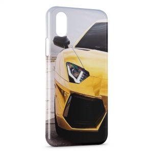 Coque iPhone XS Max Voiture de luxe 6