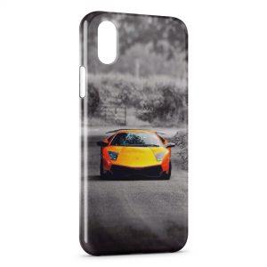 Coque iPhone XS Max Voiture de luxe 7