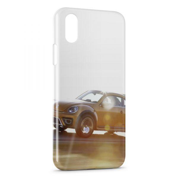 Coque iPhone XS Max Volkswagen Beetle Voiture
