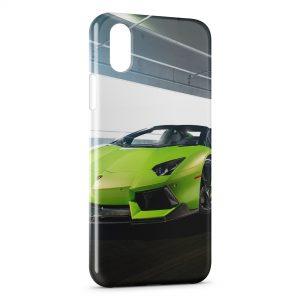Coque iPhone XS Max Vorsteiner Lamborghini Aventador 2014