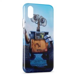 Coque iPhone XS Max Wall-E Dessins animés