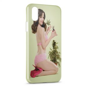 Coque iPhone XS Max Weeds