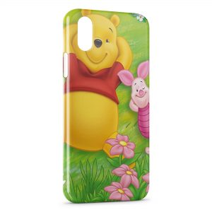 Coque iPhone XS Max Winnie l'ourson