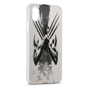 Coque iPhone XS Max Wolverine