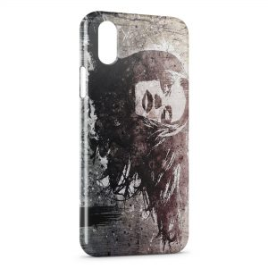 Coque iPhone XS Max Woman graffiti