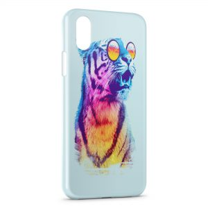 Coque iPhone XS Max Wonderful Tiger